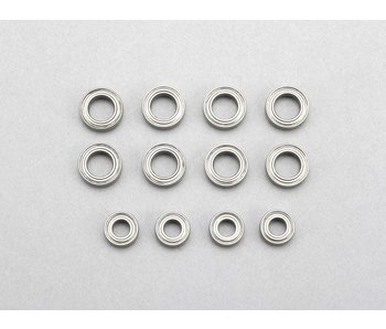 Yokomo Ball Bearing Set for Drift Racer (1060 x 8pcs / 840 × 4pcs)