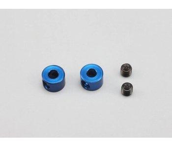 Yokomo Anti-Roll Bar Stopper - Blue (2pcs)
