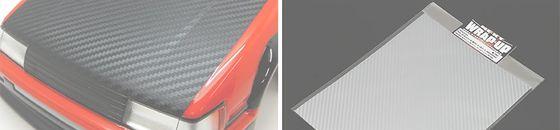 REAL 3D Super Flex Carbon sticker