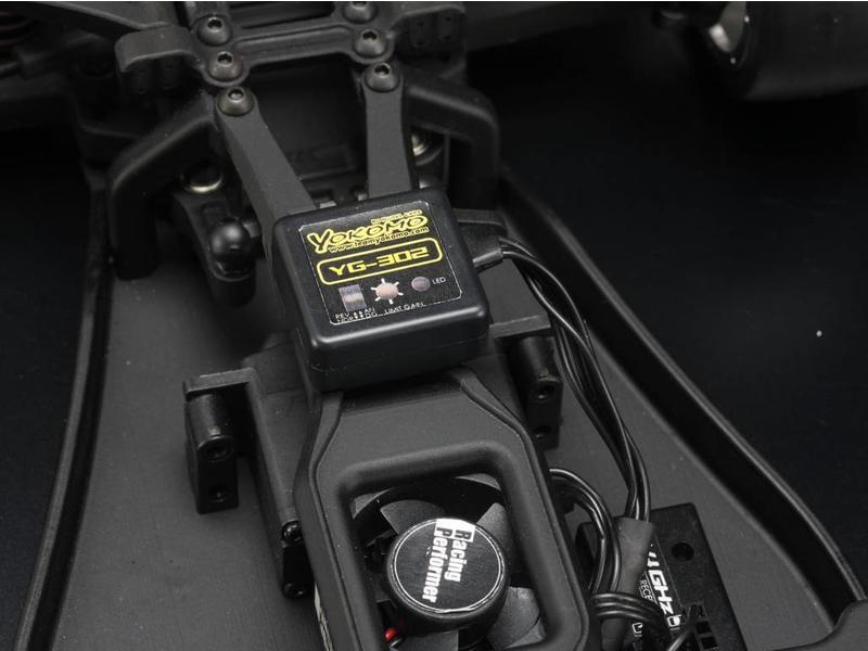Yokomo YG-302 - YG-302 Steering Gyro 3 Channel for RWD drift