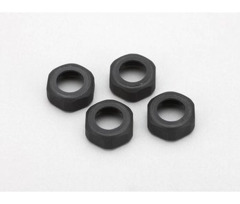 Yokomo Shock Cap Nut for Plastic Shock (4pcs)