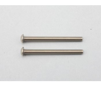 Yokomo Titanium Hex Screw Button Head M3×35mm (2pcs)