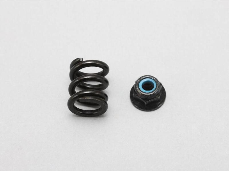 Yokomo B2-670S - Adjustment Spring / Nut for Slipper Clutch