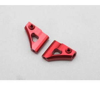 Yokomo Aluminium Upper A-Arm - Red (1 set)