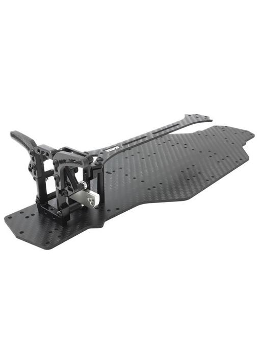 WRAP-UP Next VX Concept Carbon Main Chassis + VX-Dock Bolt-On Package for YD-2 - Black