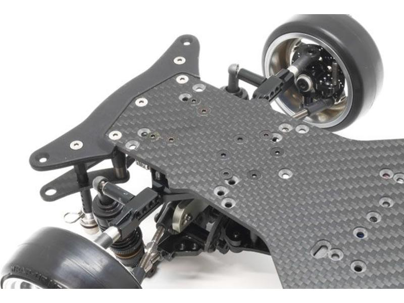 WRAP-UP Next 0270-FD - VX Concept Carbon Main Chassis + VX-Dock Bolt-On Package for YD-2 - Black