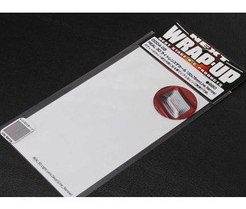 WRAP-UP Next REAL 3D Lens Decal Line Narrow 130mm x 75mm - Clear