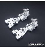 Usukani US88111-S - AR Ver 2.4 Rear Arm Set 3.0mm - Silver