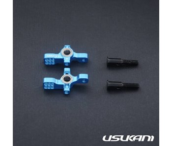 Usukani AR Ver 2 KPI Steering Knuckle Set - Yok Blue - DISCONTINUED