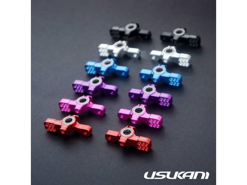 Usukani US88109-BK - AR Ver 2 KPI Steering Knuckle Set - Black - DISCONTINUED