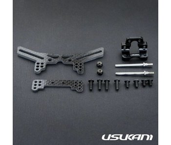 Usukani Stuctural Front Suspension System for Yokomo DPR - Black