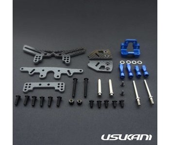 Usukani Stuctural Front Suspension System for Yokomo SD Plastic - Yok Blue