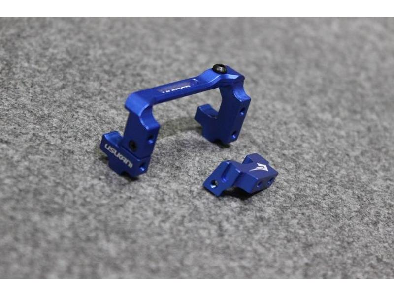Usukani US-88103-YB - Aluminium Adjustable Servo Holder - Yok Blue - DISCONTINUED