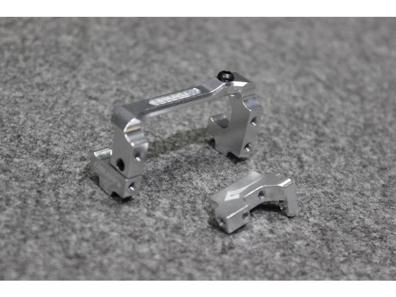 Usukani US-88103-S - Aluminium Adjustable Servo Holder - Silver