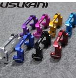 Usukani US-88103-R - Aluminium Adjustable Servo Holder - Red