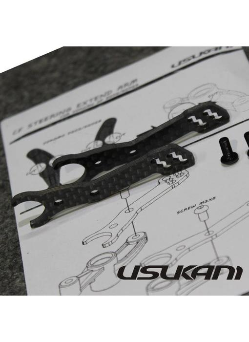 Usukani Carbon Steering Arm Extensions for Yokomo SD / SD-202