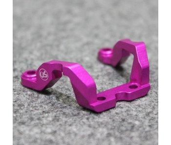 Usukani Aluminium Rear Brace for Yokomo DPR - Pink