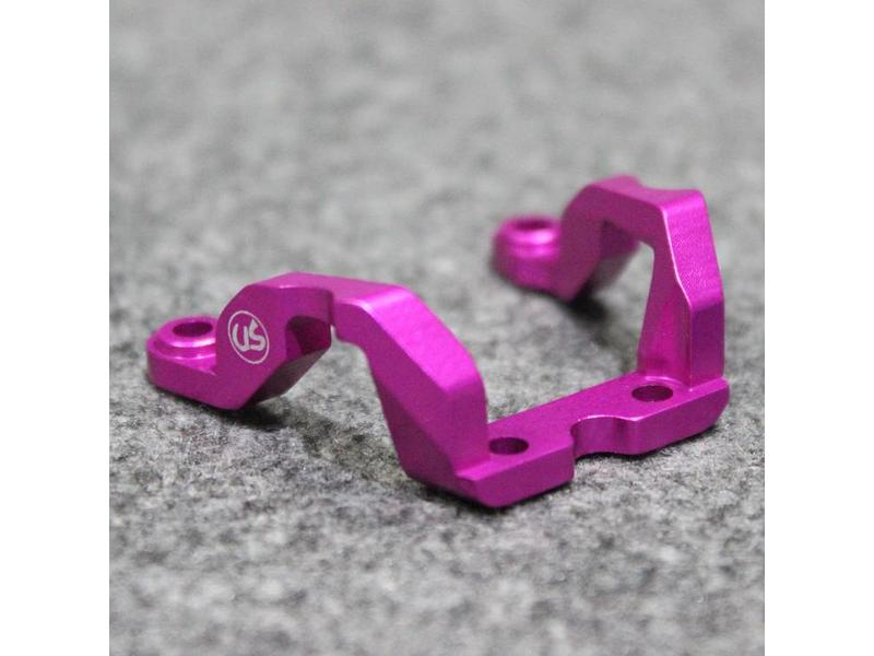 Usukani US-88093-PK - Aluminium Rear Brace for Yokomo DPR - Pink