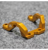 Usukani US-88093-G - Aluminium Rear Brace for Yokomo DPR - Gold