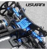 Usukani US88024-YB - Aluminium Tube Type Turnbuckle 23mm - Yok Blue (2pcs)