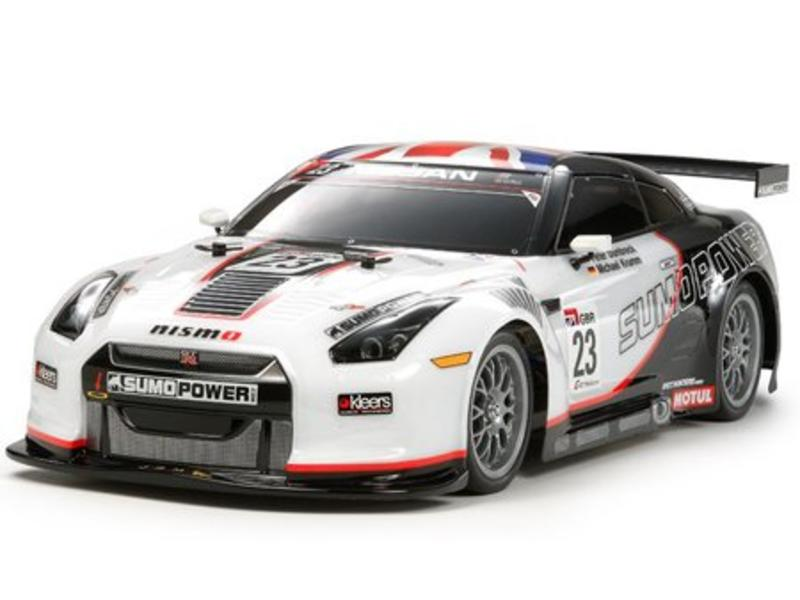 Tamiya 51453 - Nissan Skyline R35 GT-R GT - Sumo Power Drift Body