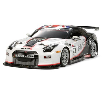 Tamiya Nissan Skyline R35 GT-R GT - Sumo Power Drift Body