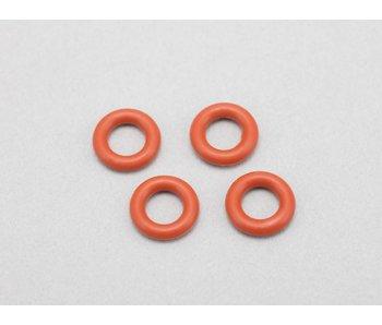 Yokomo Gear Differential O-ring Silicone - Red