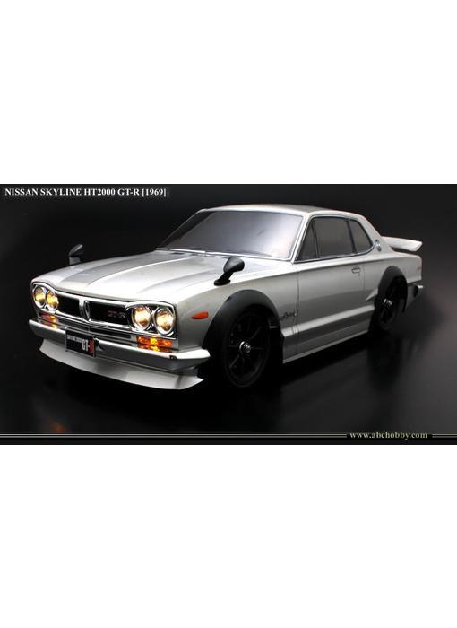 ABC Hobby Nissan Skyline HT2000 GT-R (KPGC10 Hakosuka) + Chrome Parts