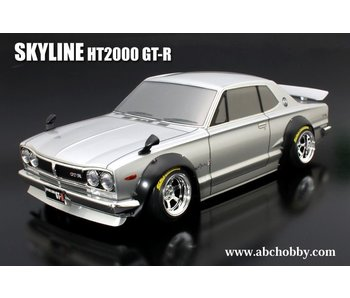 ABC Hobby Nissan Skyline HT2000 GT-R (KPGC10) + Over Fender Kit