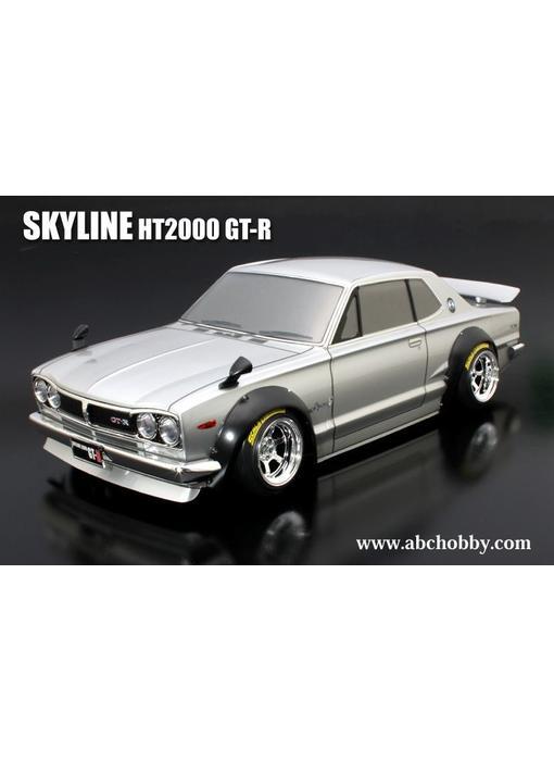 ABC Hobby Nissan Skyline HT2000 GT-R (KPGC10) + Over Fender Kit