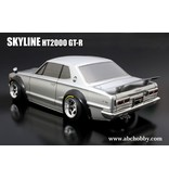 ABC Hobby 66132 - Nissan Skyline HT2000 GT-R (KPGC10) + Over Fender Kit