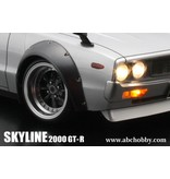 ABC Hobby 66133 - Nissan Skyline 2000 GT-R (KPGC110) + Over Fender Kit