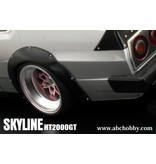 ABC Hobby 66134 - Nissan Skyline HT2000GT (C210) + Over Fender Kit