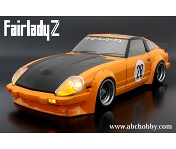 ABC Hobby Nissan Fairlady Z (S130) + Racing Fender Kit