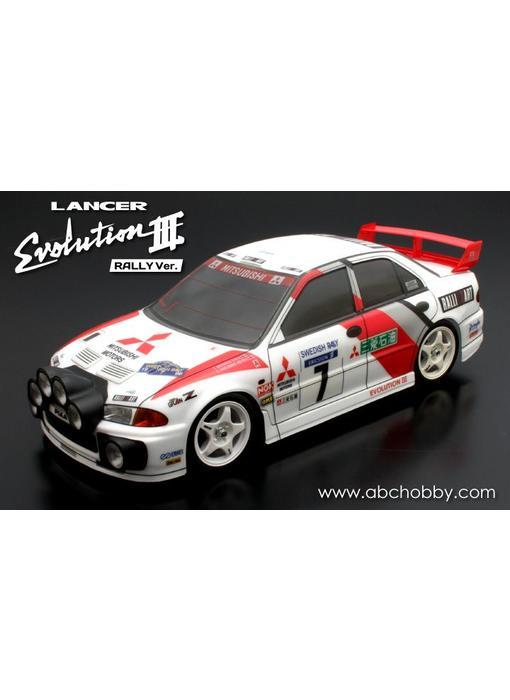 ABC Hobby Mitsubishi Lancer (Evolution III WRC Rally version)