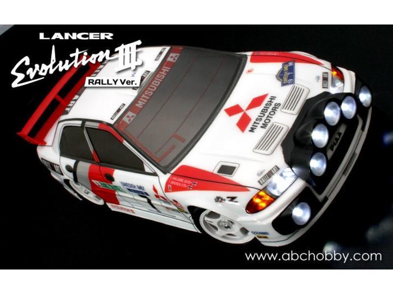 ABC Hobby 66148 - Mitsubishi Lancer (Evolution III WRC Rally version)