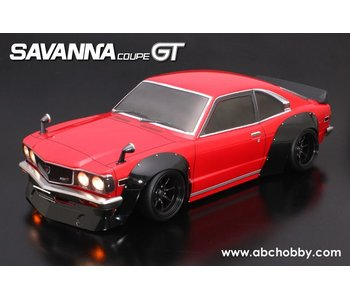 ABC Hobby Mazda RX-3 (Savanna Coupe GT) + Racing Fender Kit