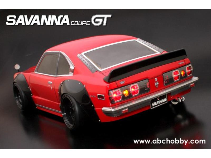 ABC Hobby 66160 - Mazda RX-3 (Savanna Coupe GT) + Racing Fender Kit