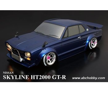 ABC Hobby Nissan Skyline HT2000 GT-R (KPGC10) Rectangle Head Light + Over Fender Kit