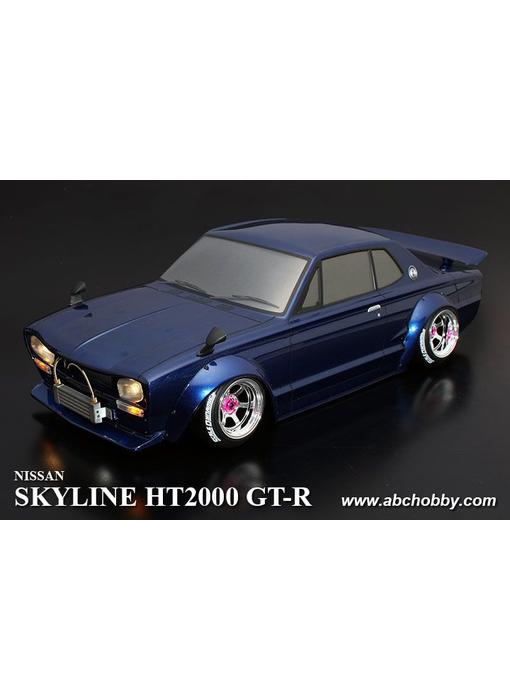 ABC Hobby Nissan Skyline HT2000 GT-R (KPGC10) Rectangle Head Light + Over Fender Kit