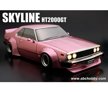 ABC Hobby Nissan Skyline HT2000GT (C210) + Racing Fender Kit Ver.1
