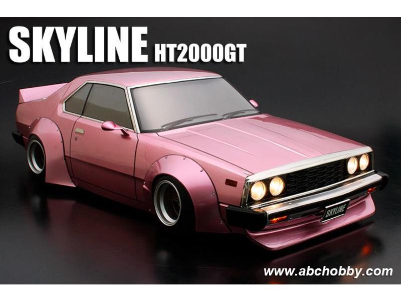 ABC Hobby - 66167 - Nissan Skyline HT2000GT (C210) + Racing