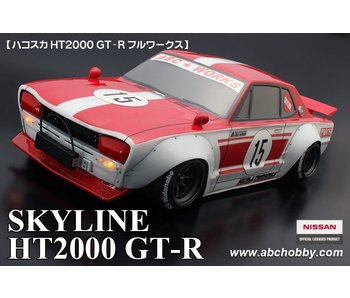 ABC Hobby Nissan Skyline HT2000 GT-R (KPGC10) + Racing Fender Kit