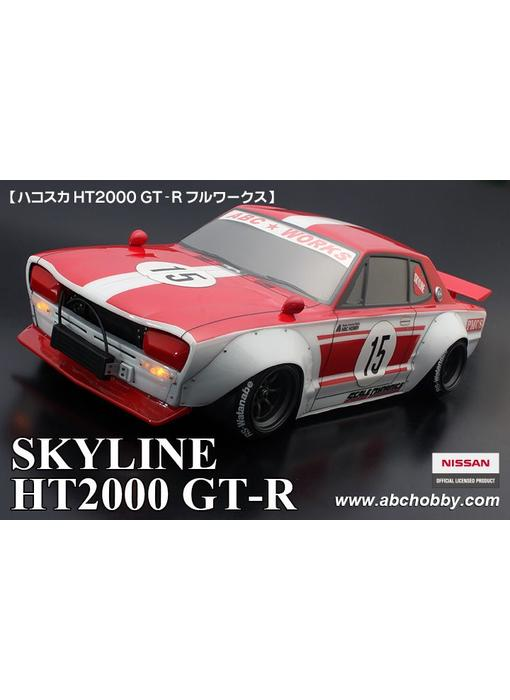 ABC Hobby Nissan Skyline HT2000 GT-R (KPGC10) + Racing Fender Kit