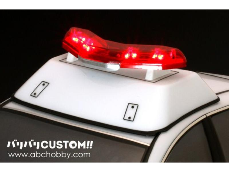 ABC Hobby 66800 - Police Car Light Elevator Base & Toyota Zero Crown (66082) Grille