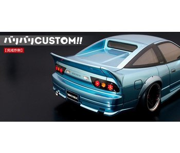 ABC Hobby Rear Under Spoiler for Nissan 180SX (66137)