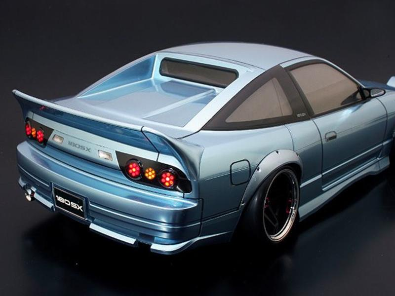 ABC Hobby 66733 - Rear Under Spoiler for Nissan 180SX (66137)