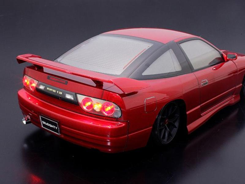 ABC Hobby 66730 - Rear Wide Wing Genuine Type for Nissan 180SX (66137)