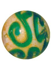 Edwardian - blau-grün 22mm
