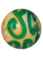 Edwardian - blau-grün 16mm